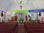 Ruang utama Gereja BNKP Hilisawato Simalingkar Medan
