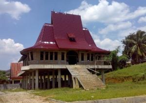 Gedung SM, Aula Pertemuan dan Rumah Dinas Pendeta